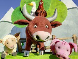 """Figurentheater """"Die Complizen"""" mit """"Das Schaf Charlotte und seine Freunde""""!"""