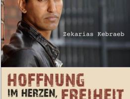 """""""Hoffnung im Herzen, Freiheit im Sinn – Vier Jahre auf der Flucht nach Deutschland""""."""