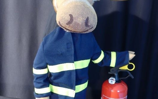 """Kuki """"Finn, der Feuerwehrelch"""""""